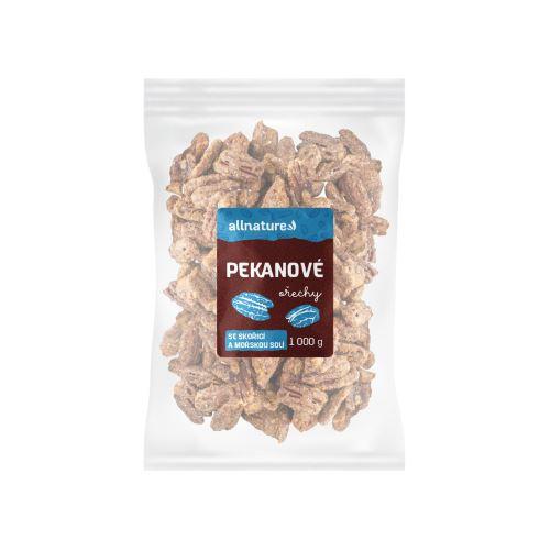 Allnature Pekanové ořechy se skořicí a mořskou solí 1000 g