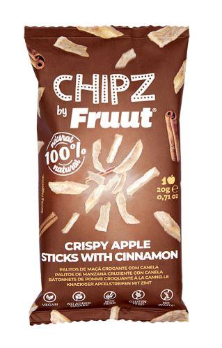 Fruut Sušené jablečné křupavé kousky se skořicí 20 g