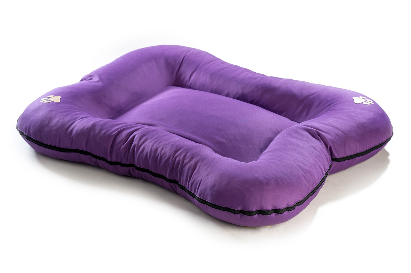 Matrace pro psa z polyesteru - fialová - 90 x 70 cm
