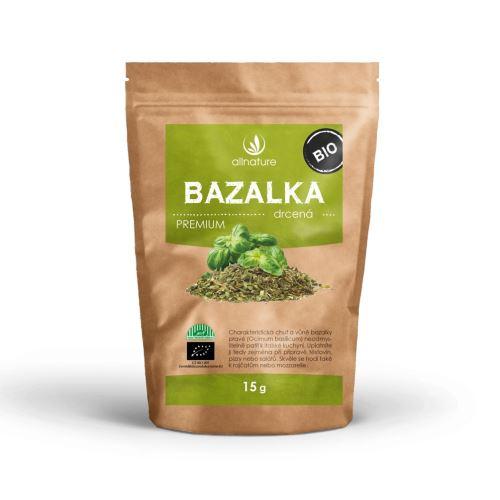Allnature Bazalka drcená BIO 15 g