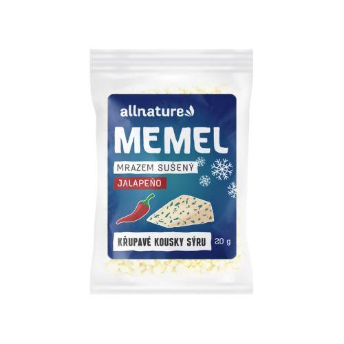 Allnature Memel sušený mrazem s jalapeno 20 g