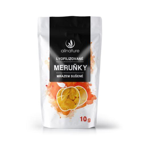Allnature Meruňka sušená mrazem kousky 10 g