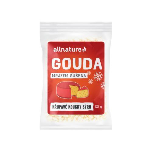 Allnature Gouda sušená mrazem 20 g