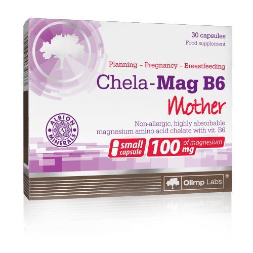 Olimp Chela-Mag B6 magnesium + vit. B6 mama 30 kapslí