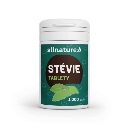 Allnature Stévie tablety 1000 ks