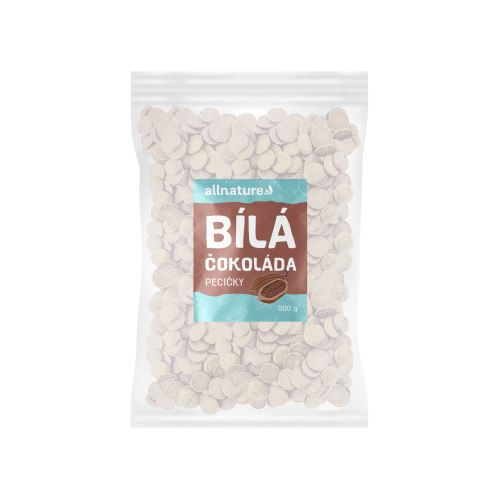 Allnature Bílá čokoláda 500 g