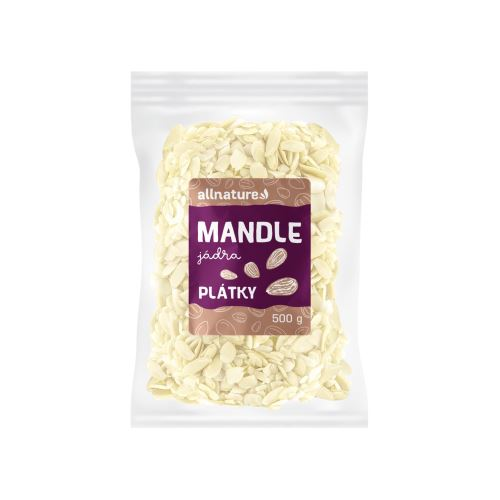 Allnature Mandle plátky 500 g