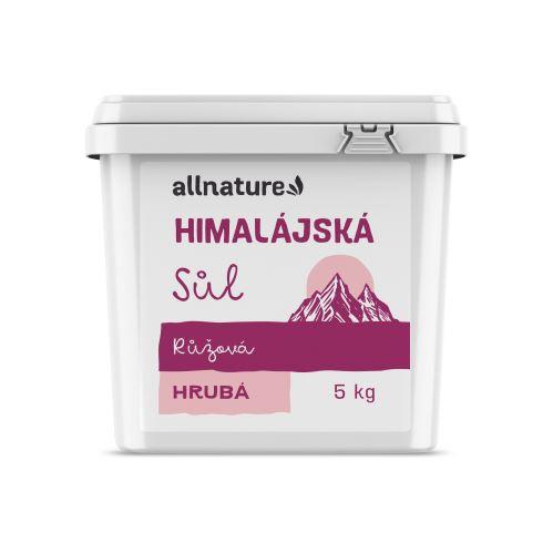 Allnature Himalájská sůl růžová hrubá 5 kg