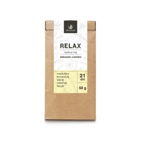 Allnature Relax bylinný čaj 50 g