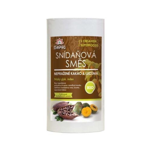 Iswari Snídaňová směs nepražené kakao lucuma 800 g