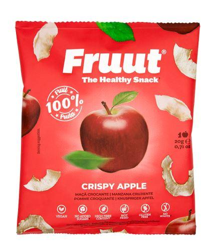 Fruut Sušené jablečné křupavé plátky (červené jablko) 20 g