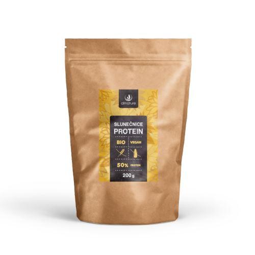 Allnature Slunečnice protein 50% BIO 200 g