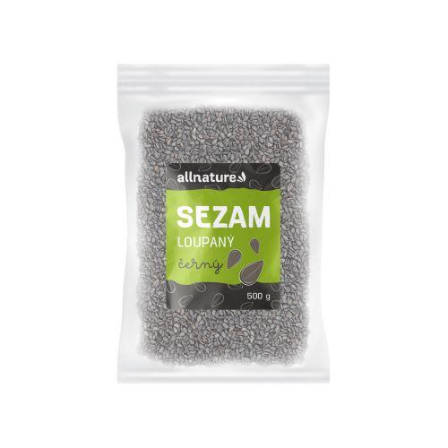 Allnature Sezam černý 500 g