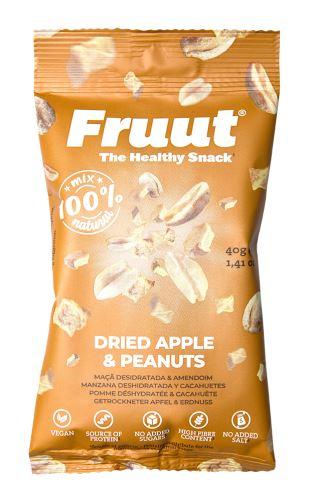 Fruut Sušené jablečné křupavé kousky sarašídy 40 g