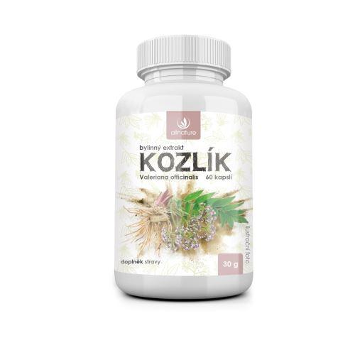 Allnature Kozlík bylinný extrakt 60 cps.