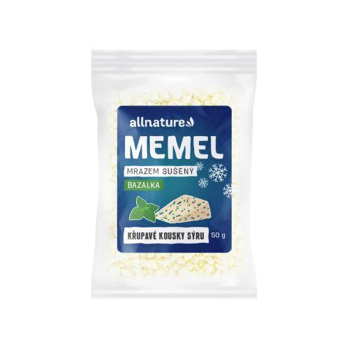 Allnature Memel sušený mrazem s bazalkou 50 g