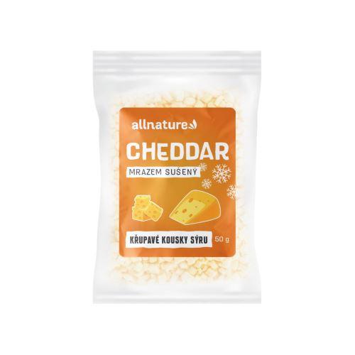 Allnature Cheddar suseny mrazem 50 g