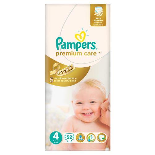 Pampers Premium Care 4 MAXI 52 ks 7-18 kg