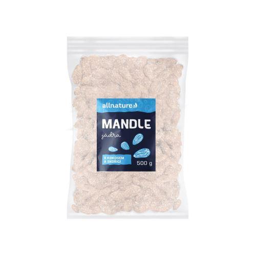 Allnature Mandle s kokosem a skořicí 500 g