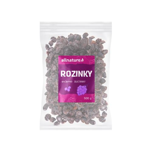 Allnature Rozinky sultánky 500 g