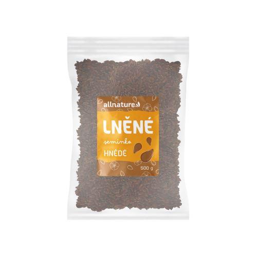 Allnature Lněné semínko hnědé 500 g
