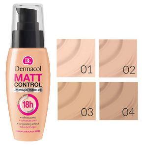 Dermacol Matt Control make-up 04 Tan 30 ml