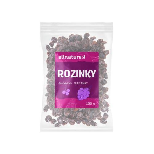 Allnature Rozinky sultánky 100 g