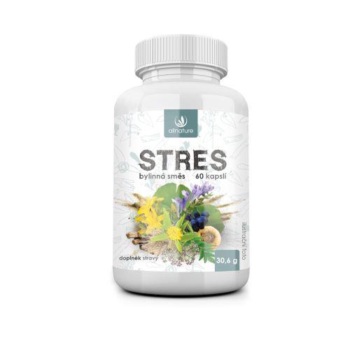 Allnature Stres bylinný extrakt 60 cps.