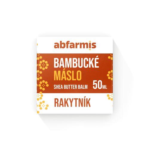 Abfarmis Bambucké máslo rakytník 50 ml