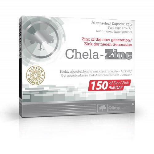 Olimp Chela zinc - zinek 30 kapslí