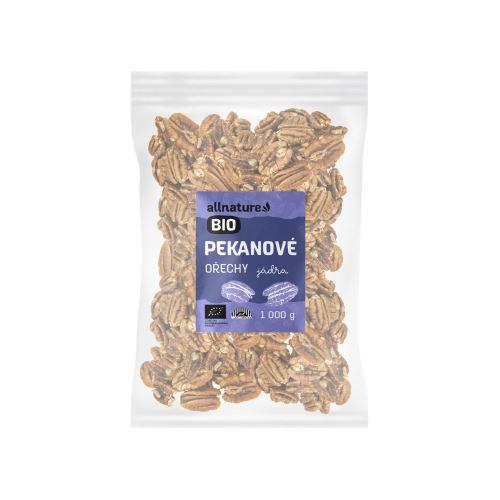 Allnature Pekanové ořechy BIO 1000 g
