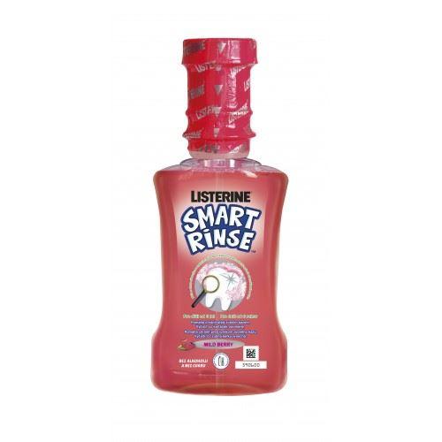 Listerine Smart Rinse Berry ústní voda 250 ml