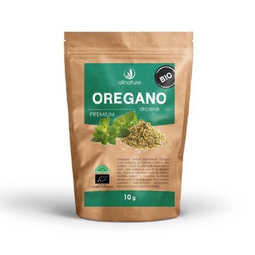 Allnature Oregano drcené BIO 10 g