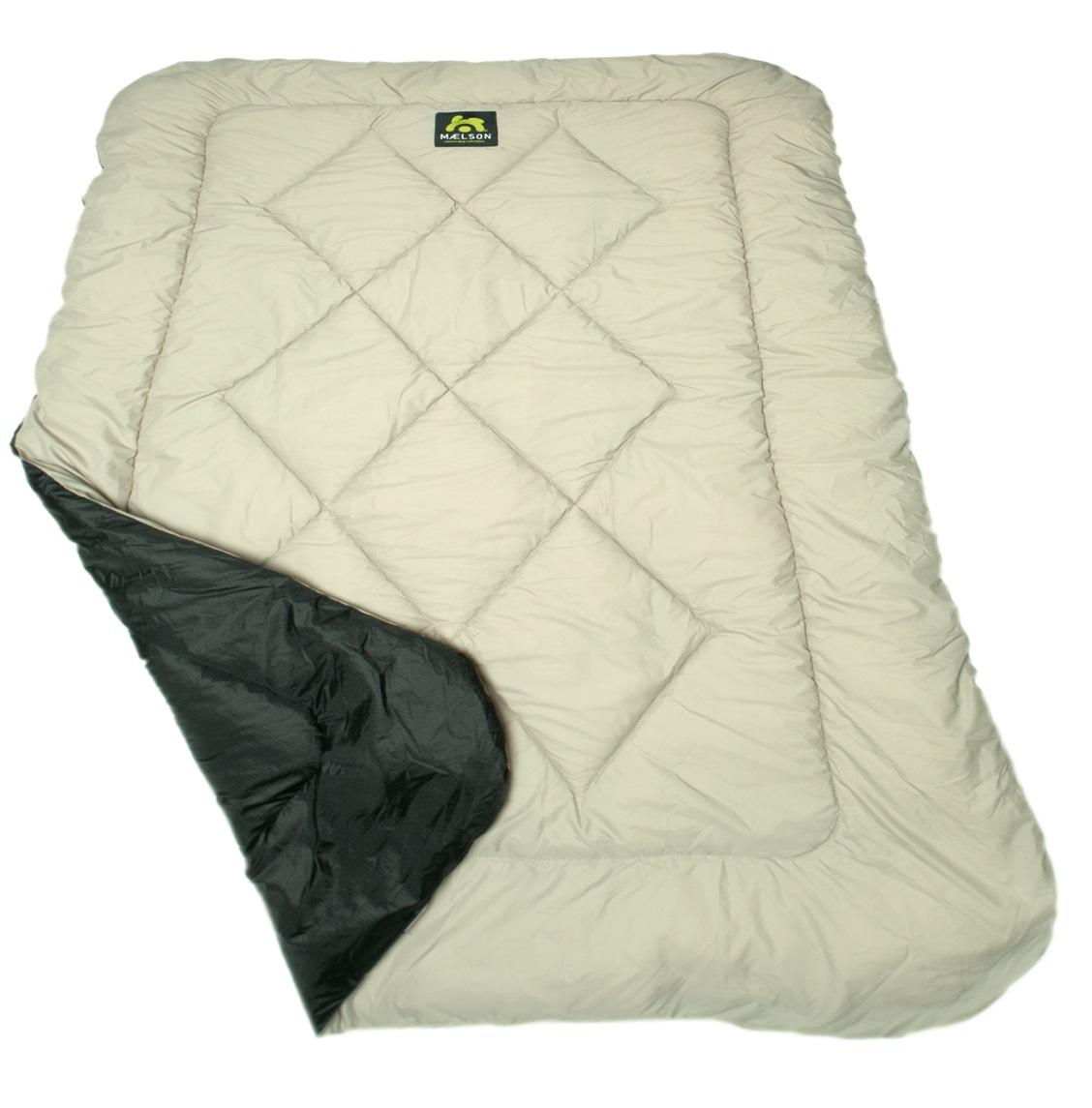 Maelson Cosy Roll Cestovní deka černo-béžová, 150x100 cm