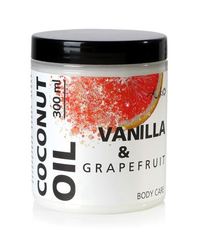 AUKSO Kokosový olej bodycare Grapefruit a vanilka 300 ml