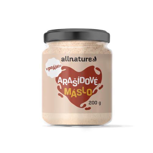 Allnature Arašídové máslo v prášku 200 g