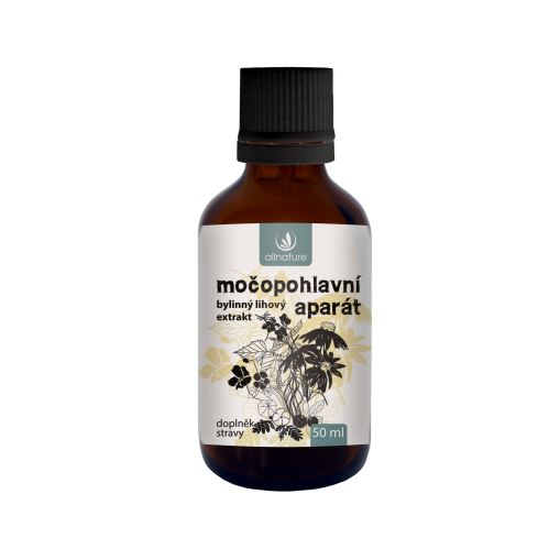 Allnature Močopohlavní aparát bylinný lihový extrakt 50 ml