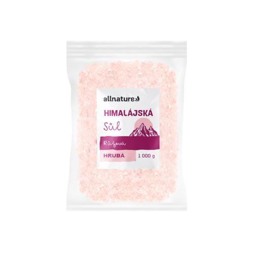 Allnature Himalájská sůl růžová hrubá 1000 g