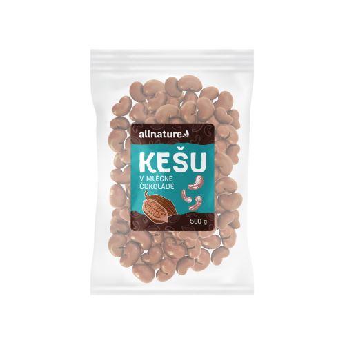 Allnature Kešu v mléčné čokoládě 500 g