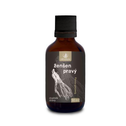 Allnature Ženšen pravý bylinné kapky 50 ml