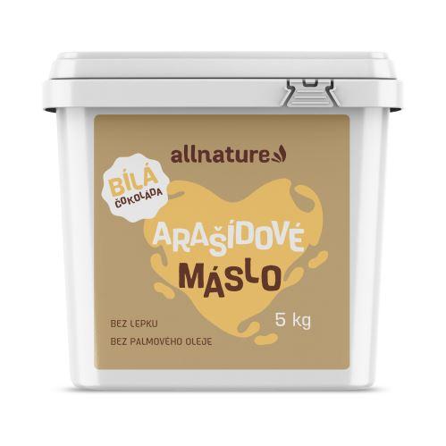 Allnature Arašídový krém s bílou čokoládou 5 kg