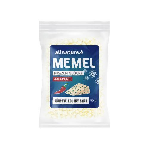 Allnature Memel sušený mrazem s jalapeno 50 g