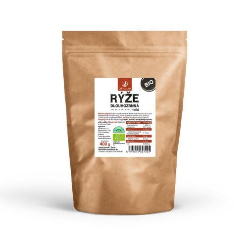 Allnature Dlouhozrnná rýže bílá BIO 400 g