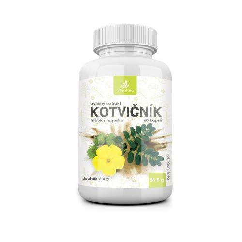 Allnature Kotvičník bylinný extrakt 60 cps.