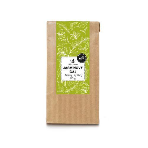 Allnature Jasmínový čaj zelený sypaný BIO 50 g