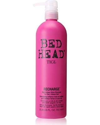TIGI Bed Head Recharge High-Octane Shine Shampoo Šampon pro vysoký lesk 750 ml