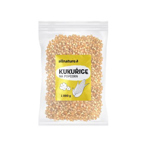 Allnature Kukuřice na popcorn 1000 g