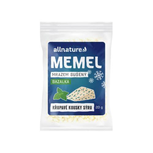Allnature Memel sušený mrazem s bazalkou 20 g