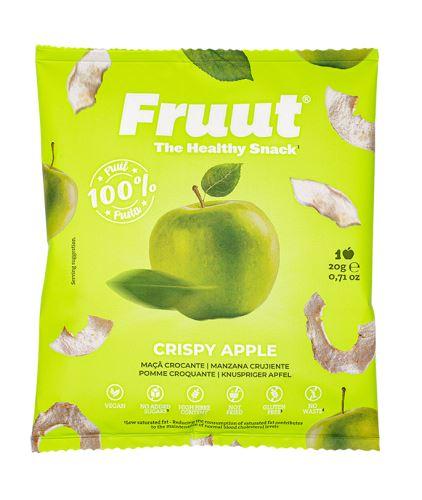 Fruut Sušené jablečné křupavé plátky (zelené jablko) 20 g