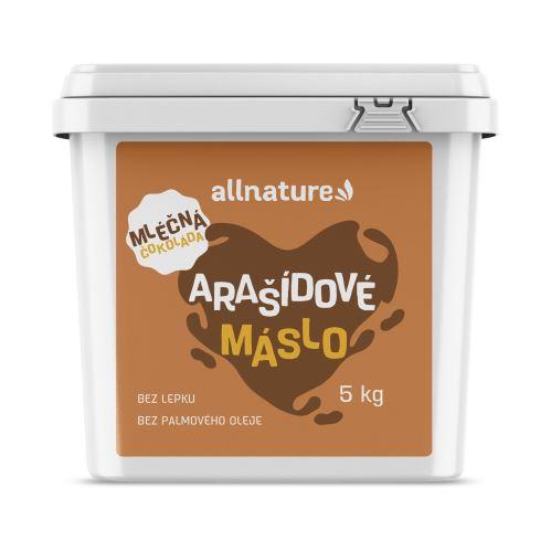 Allnature Arašídový krém s mléčnou čokoládou 5 kg